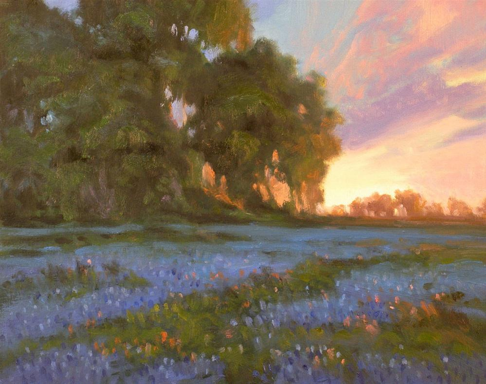 """""""The End of Day"""" original fine art by David Forks"""