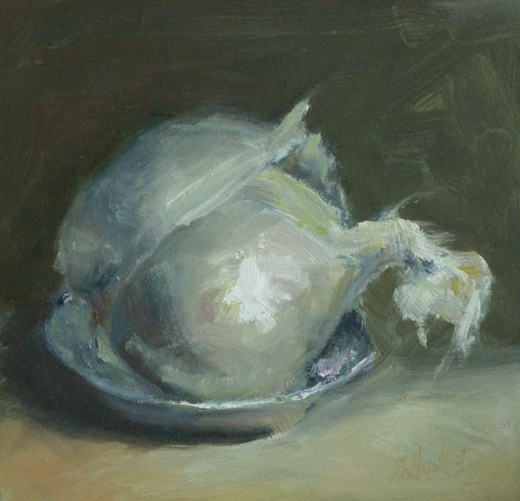 """""""Onion"""" original fine art by michal dye"""
