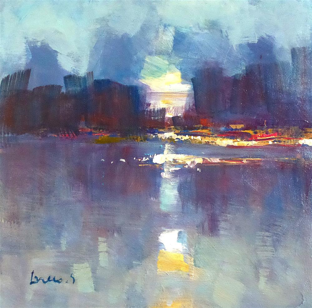 """""""early morning"""" original fine art by salvatore greco"""