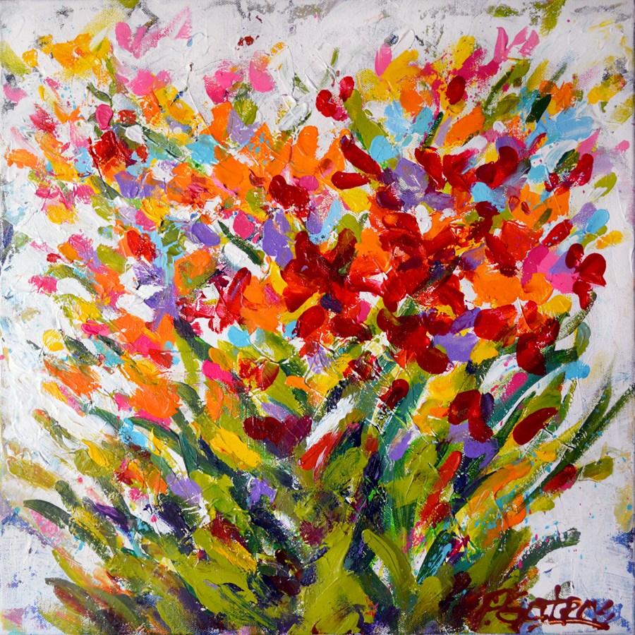 """""""Prairie Petals"""" original fine art by Pamela Gatens"""