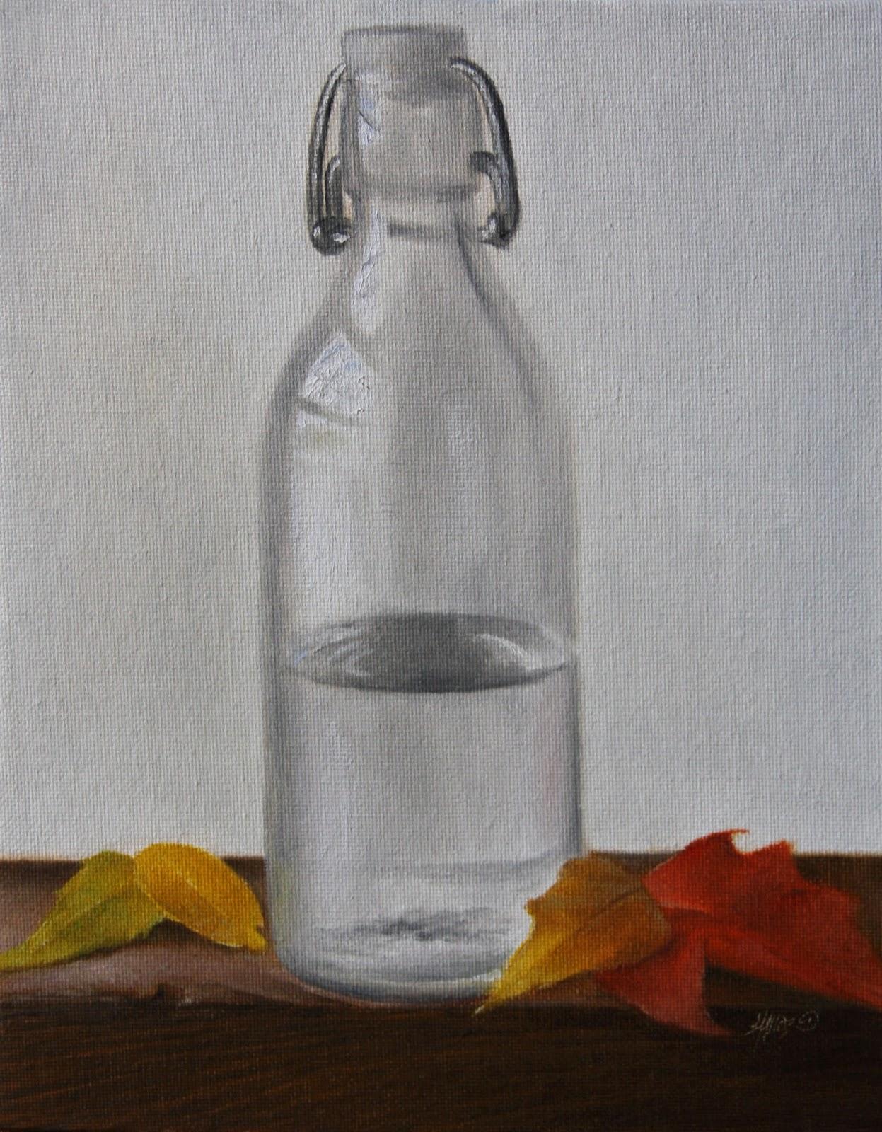"""""""Fall Leaves"""" original fine art by Jonathan Aller"""
