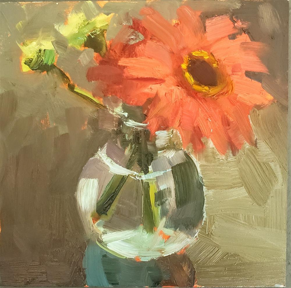 """Daisy Delight"" original fine art by Barbie Smith"