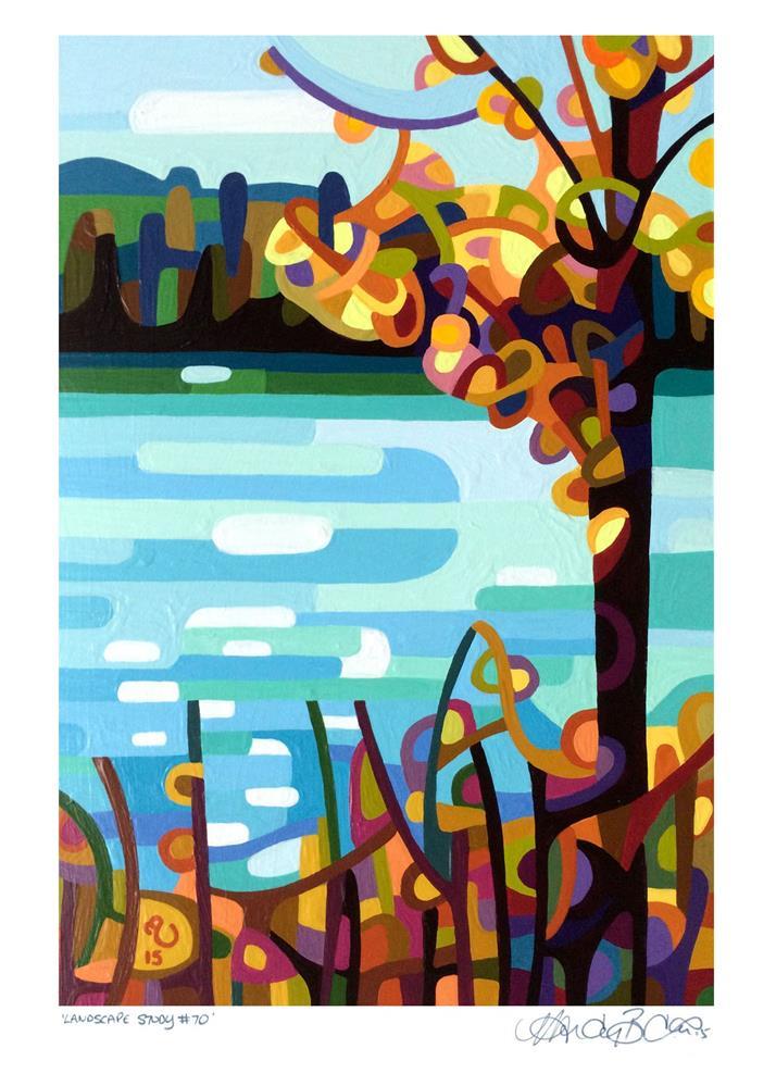 """Landscape Study #70"" original fine art by Mandy Budan"