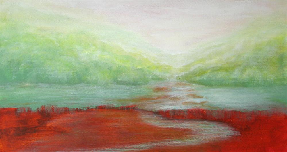 """At Distance"" original fine art by Alina Frent"