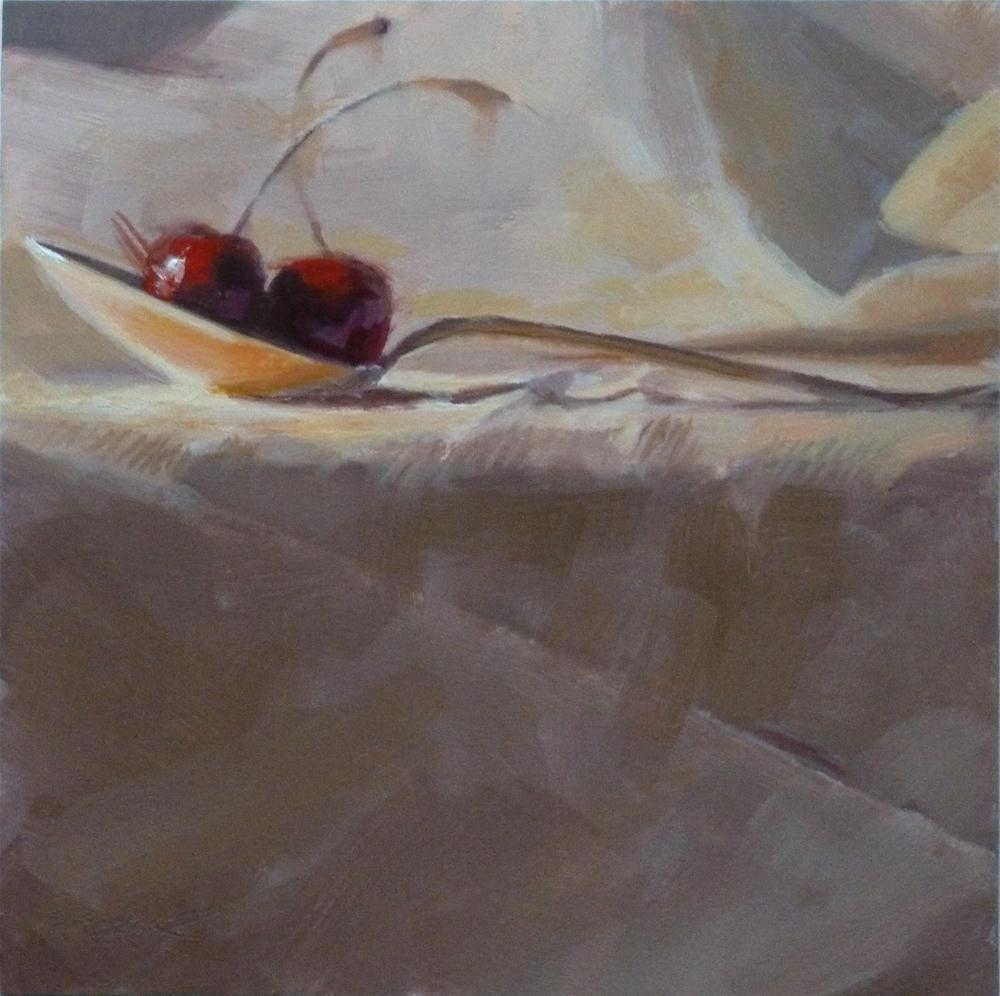 """""""A Spoonful of Cherries"""" original fine art by Ron Ferkol"""