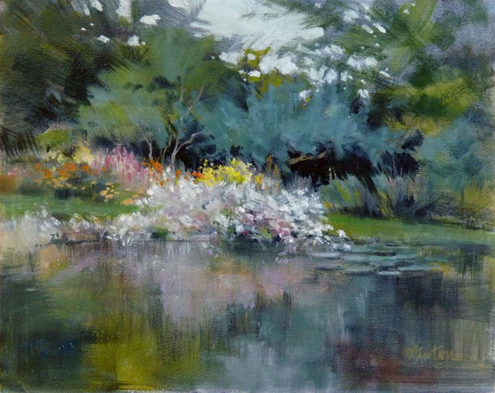 """""""Oil Study 10"""" original fine art by Barbara Benedetti Newton"""