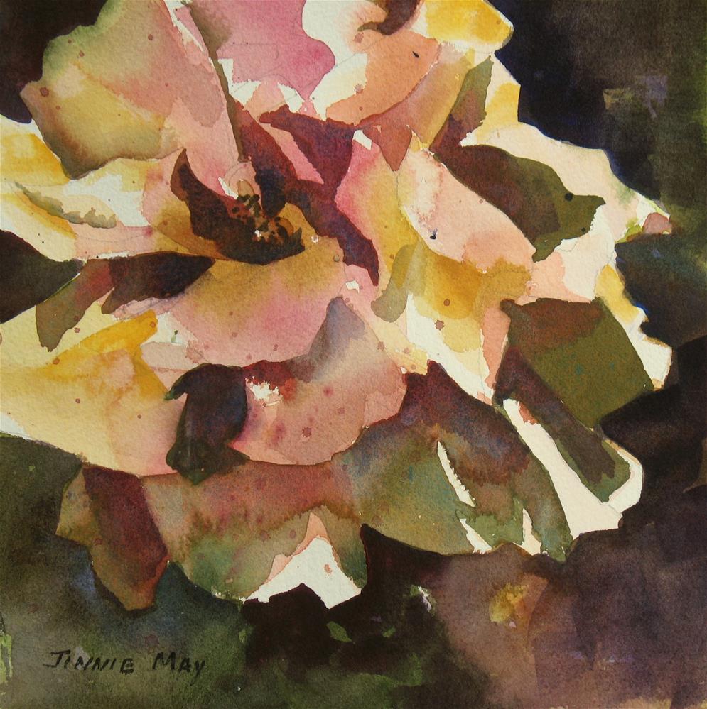 """The Rose Challenge II"" original fine art by Jinnie May"