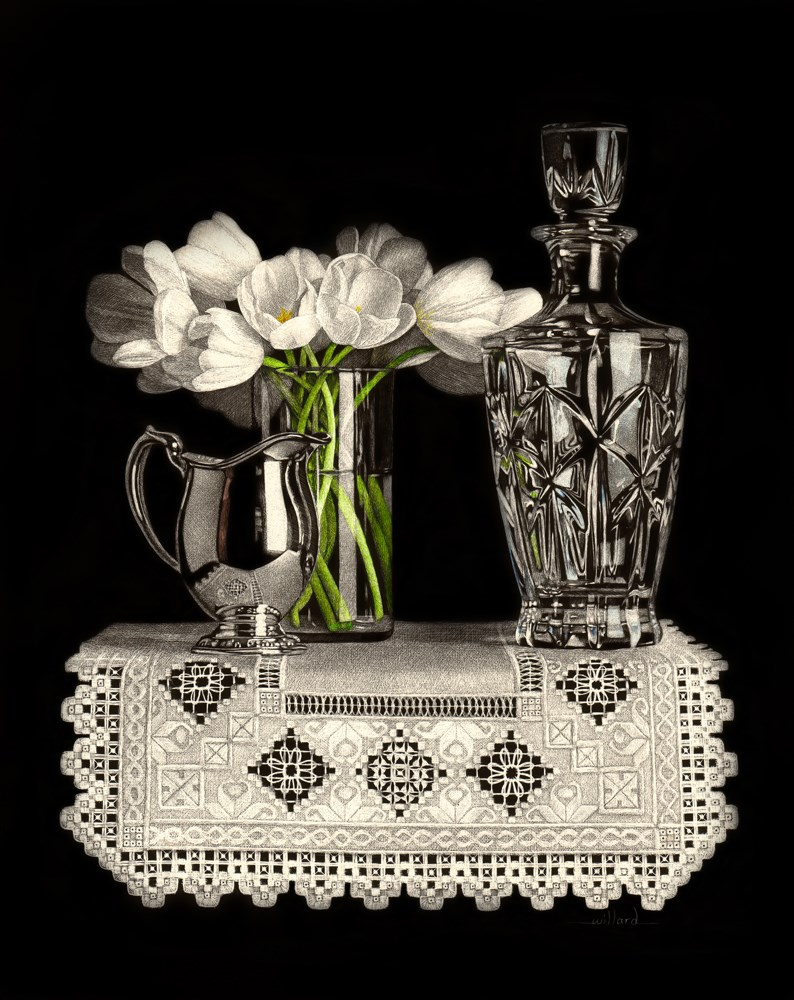 """Clarity"" original fine art by Sandra Willard"