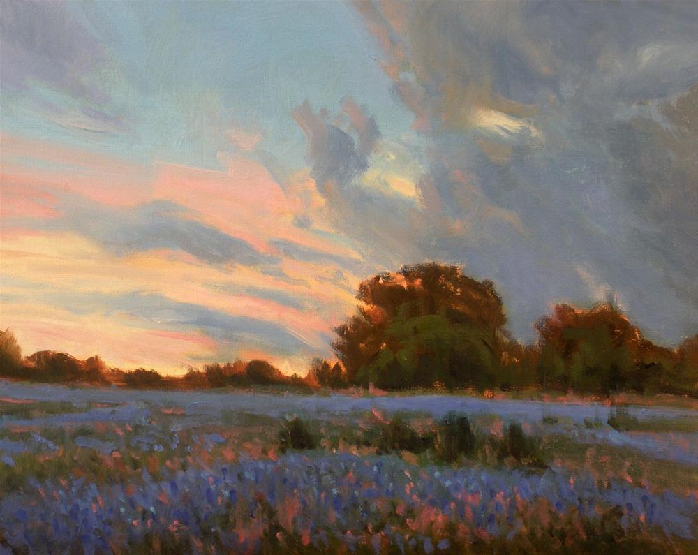 """""""Days End"""" original fine art by David Forks"""
