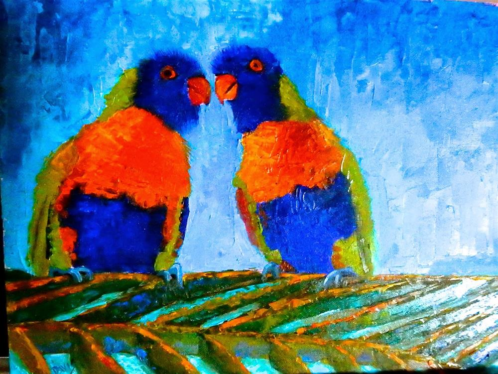 """""""I Only Have Eyes for You"""" original fine art by Phyllis Davis"""