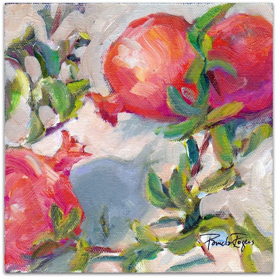 """Food of Persephone"" original fine art by Pamela Jane Rogers"