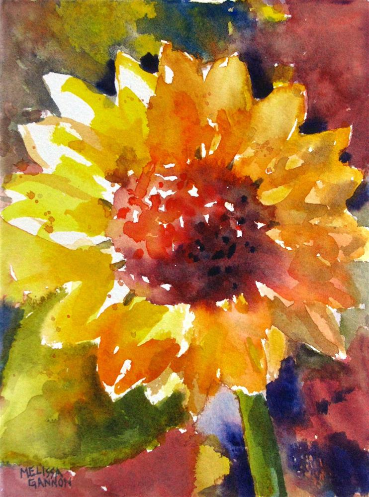 """Sunshine!"" original fine art by Melissa Gannon"