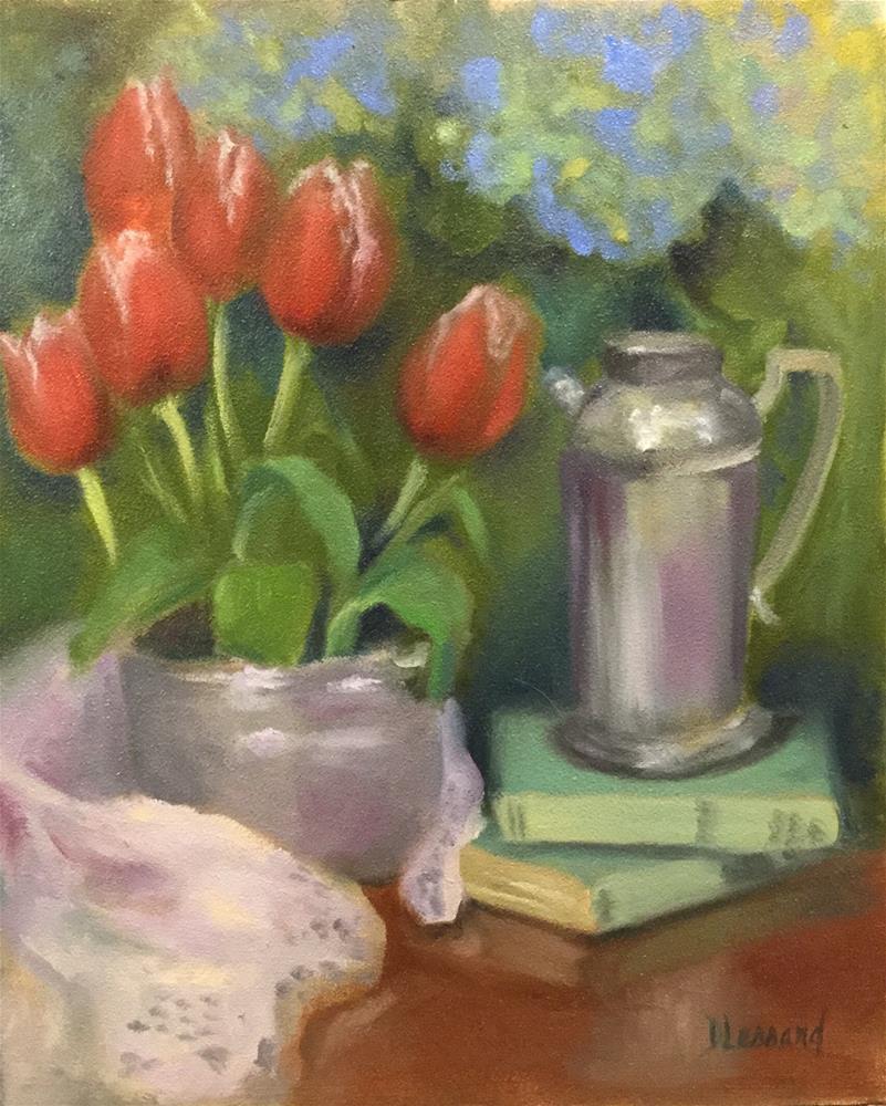 """Spring Break"" original fine art by Dee Lessard"