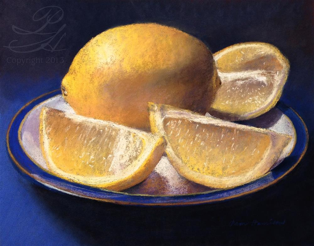 """Lemons"" original fine art by Pamela Hamilton"
