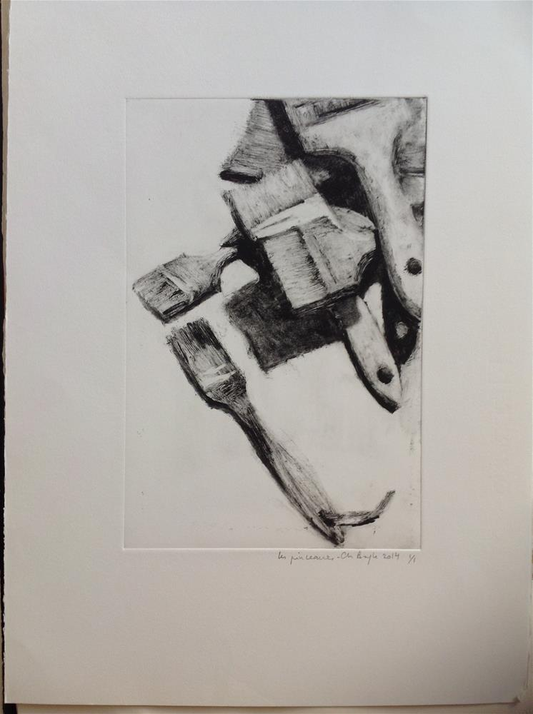 """Spalters"" original fine art by Christine Bayle"