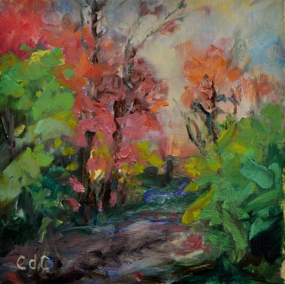 """Autumn Once Again"" original fine art by Catherine Crookston"
