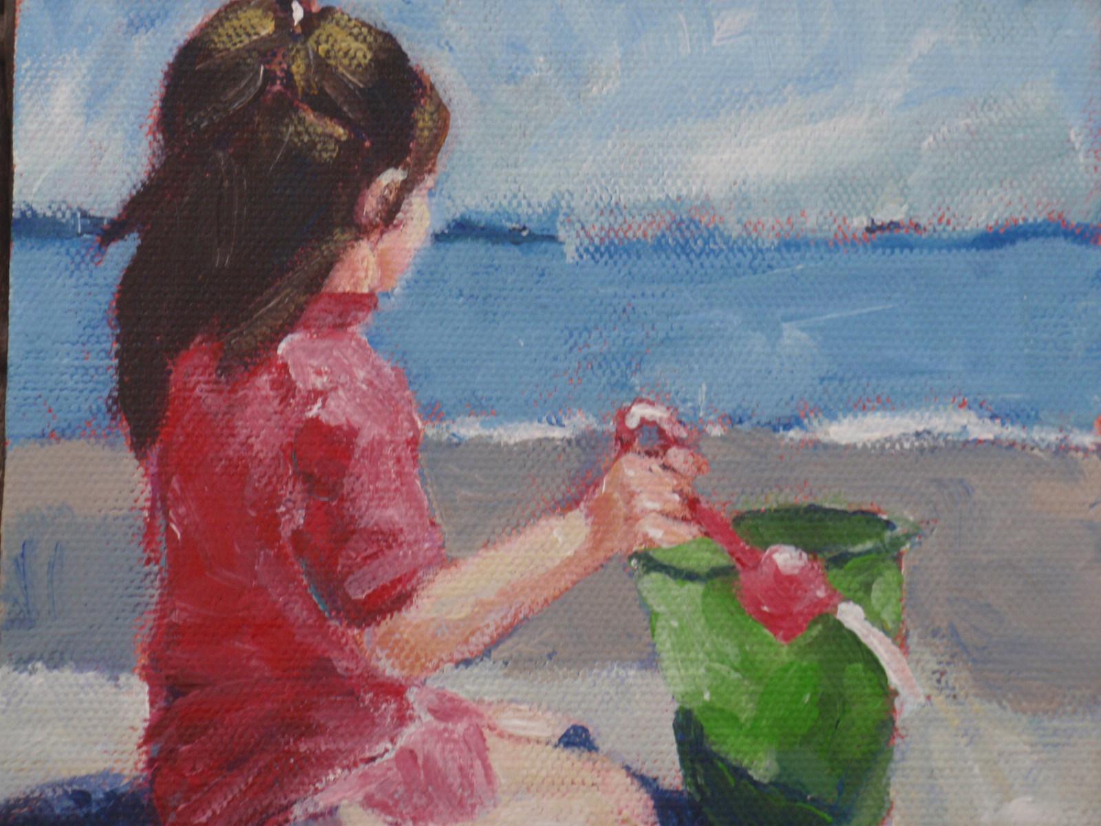 """""""Jo Jo"""" original fine art by Shelley Garries"""