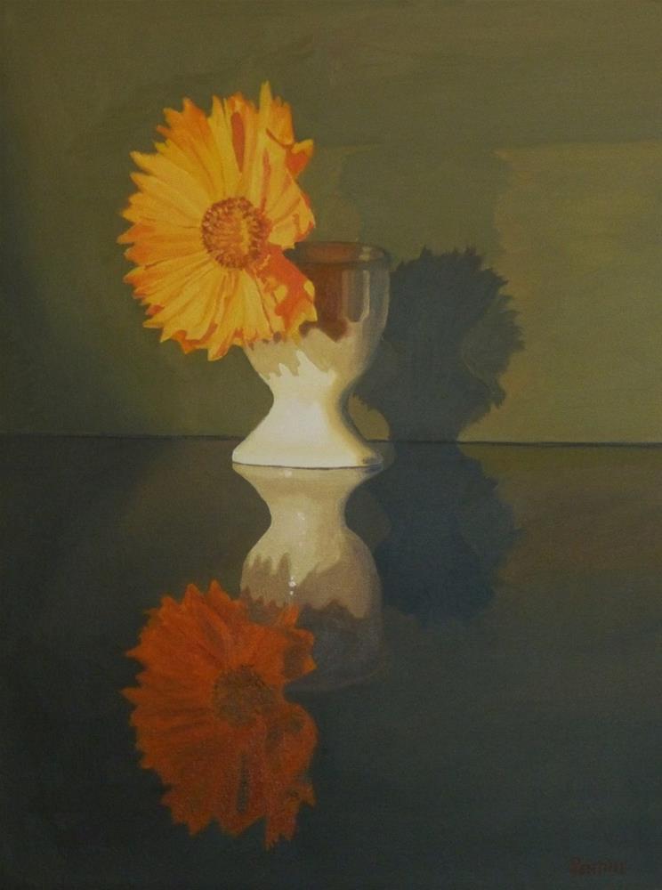 """In Lieu of Breakfast "" original fine art by Peter Lentini"