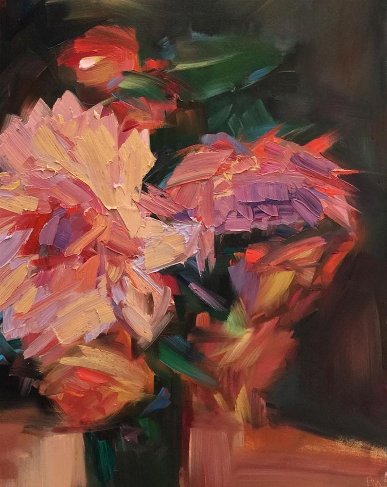 """Fall Flowers"" original fine art by Patti McNutt"