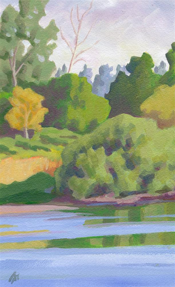 """South Willamette Park "" original fine art by Mark Allison"