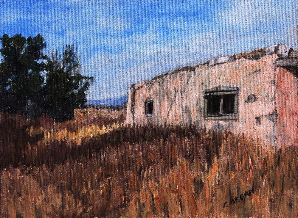 """Deserted in Galisteo"" original fine art by Candi Hogan"