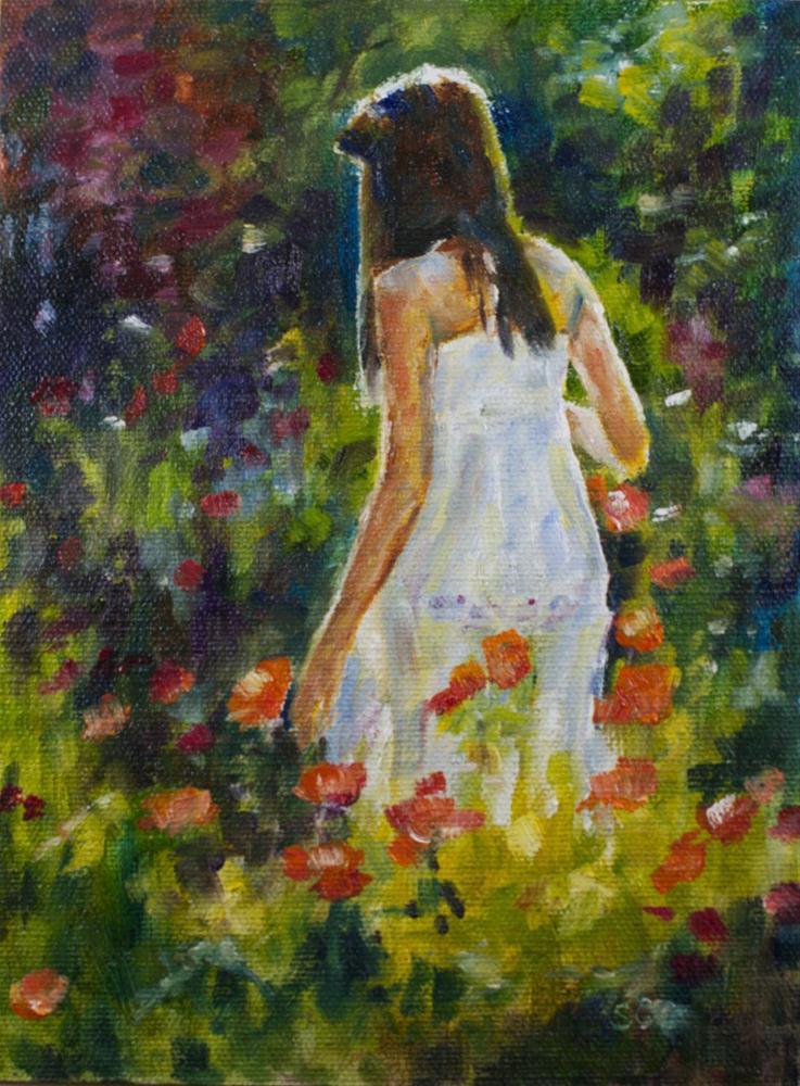 """Color Backlit"" original fine art by Sue Churchgrant"