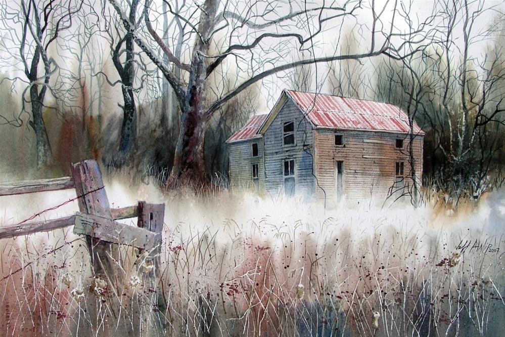 """Ground Fog"" original fine art by Jeff Atnip"