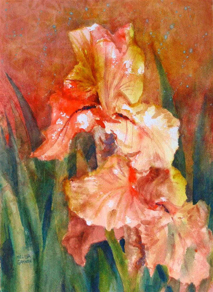 """Iris Fantasy"" original fine art by Melissa Gannon"