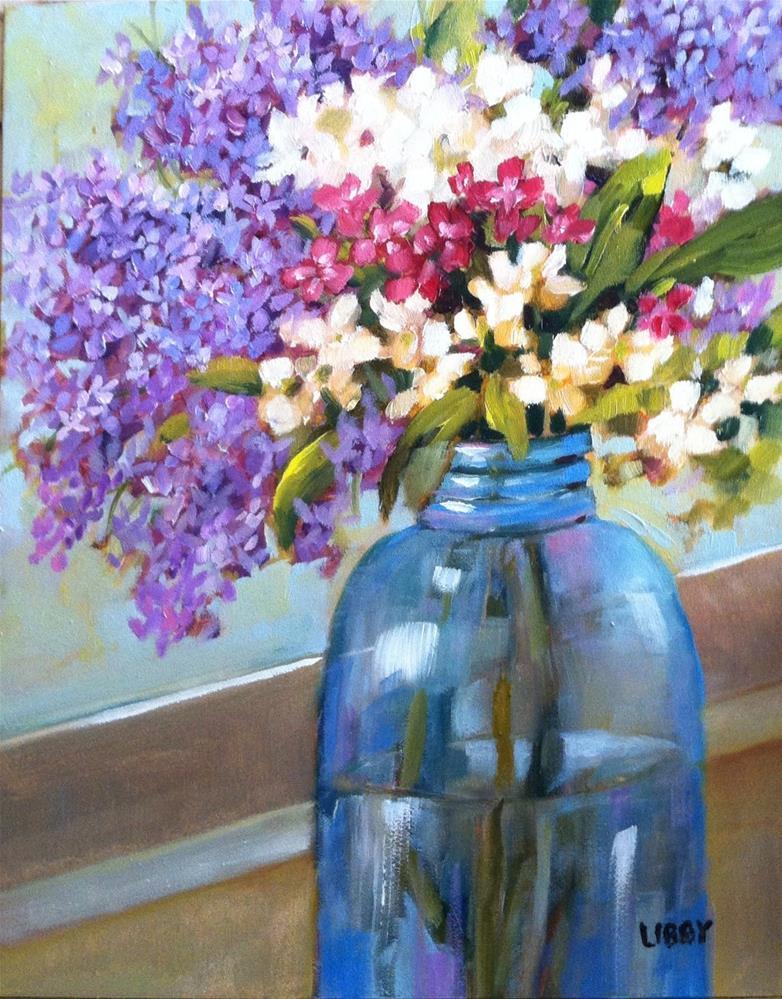 """Dream for Spring"" original fine art by Libby Anderson"