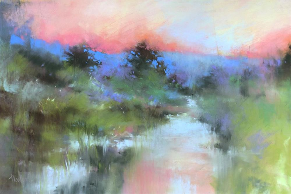 """Sunrise #3"" original fine art by Barbara Benedetti Newton"