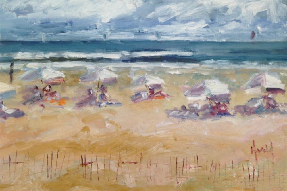 """End of Summer"" original fine art by Deborah Harold"