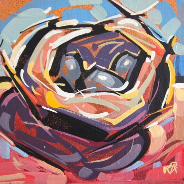 """Bird's Nest Abstraction 58"" original fine art by Roger Akesson"