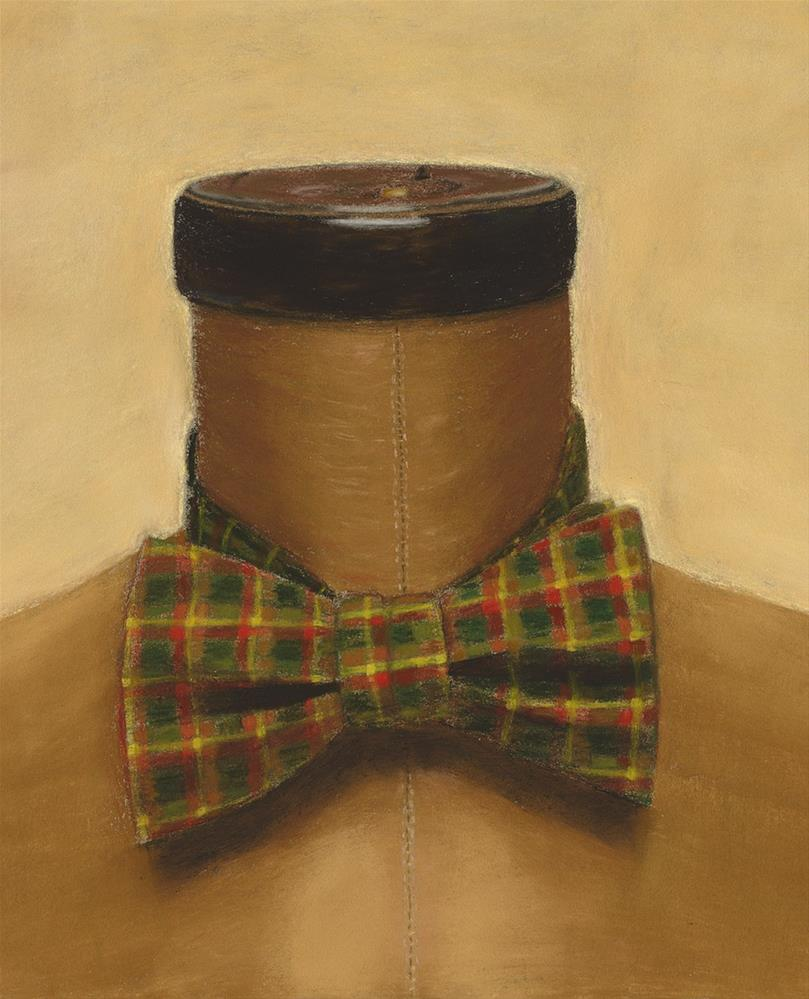"""The Bow Tie"" original fine art by Susan Fern"