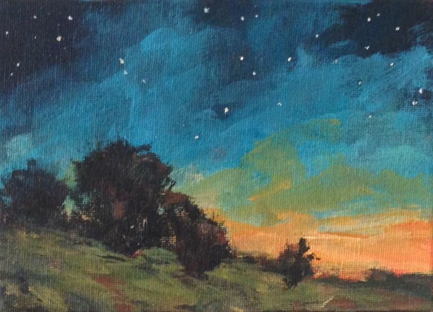 """Time Away"" original fine art by Shannon Bauer"