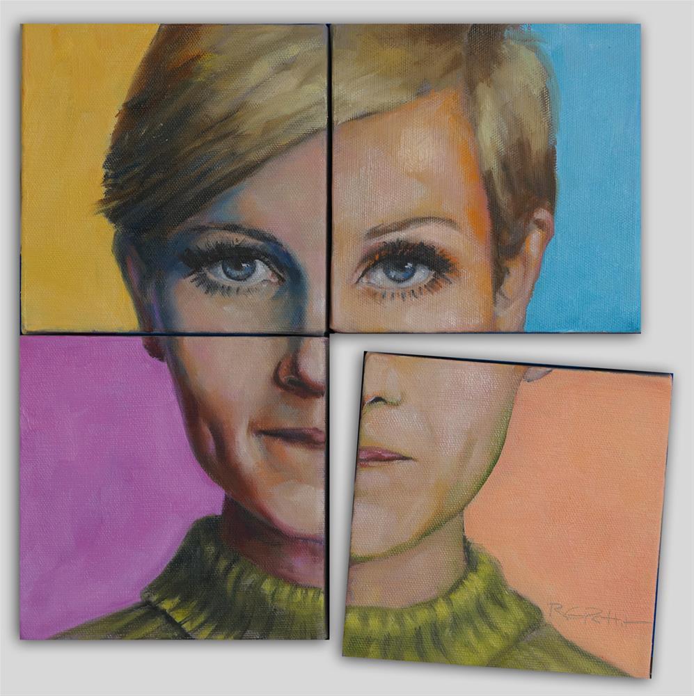 """Icon"" original fine art by Rhea  Groepper Pettit"