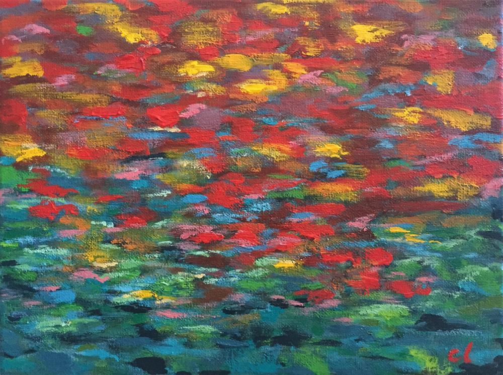 """Fall! Where are you already?"" original fine art by Cheree Apalona Lueck"