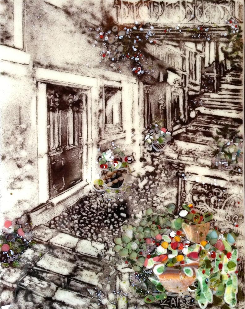 """Tuscan Walkway"" original fine art by Kelly Alge"