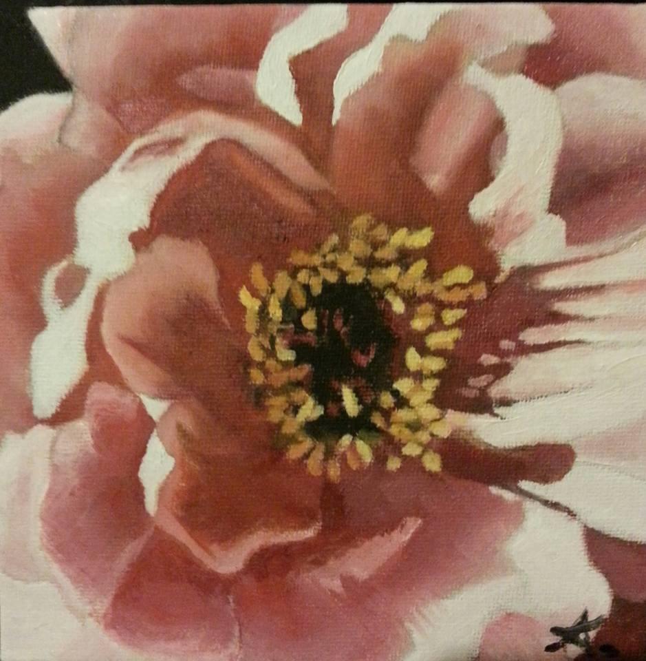 """flower"" original fine art by Konstantia Karletsa"