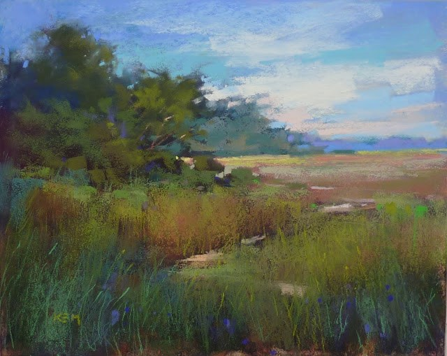 """""""Advice for Rescuing a Failed Painting"""" original fine art by Karen Margulis"""