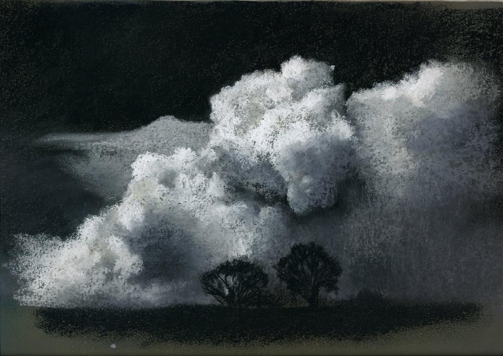 """""""Heavy Weather"""" original fine art by Christine Derrick"""