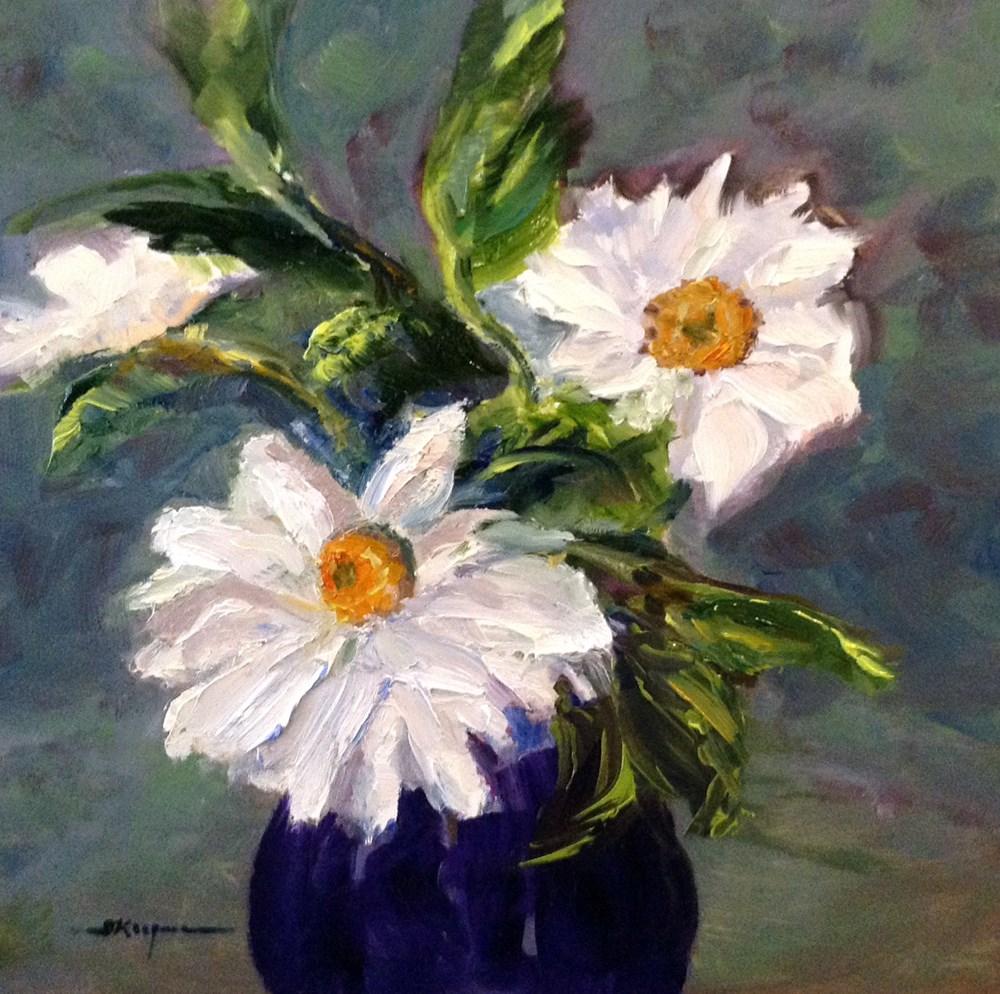 """""""Daisy Days"""" original fine art by Shelley Koopmann"""
