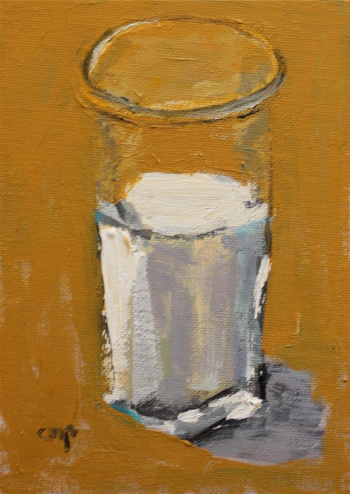 """Still Life of Milk"" original fine art by Christine Parker"