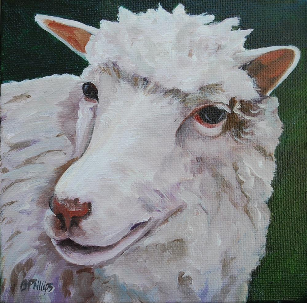 """Miss Molly"" original fine art by Beverley Phillips"