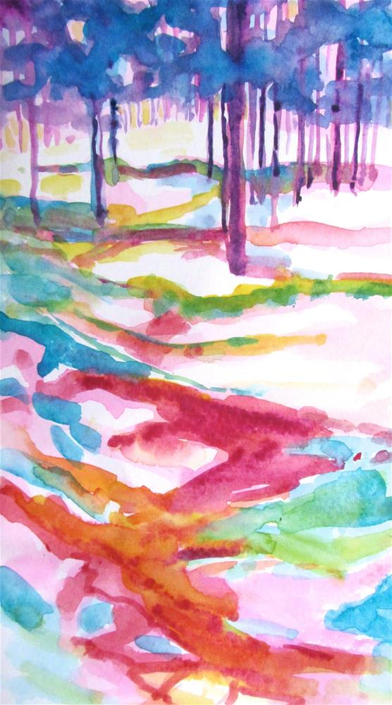 """Pathways 1"" original fine art by Patricia MacDonald"
