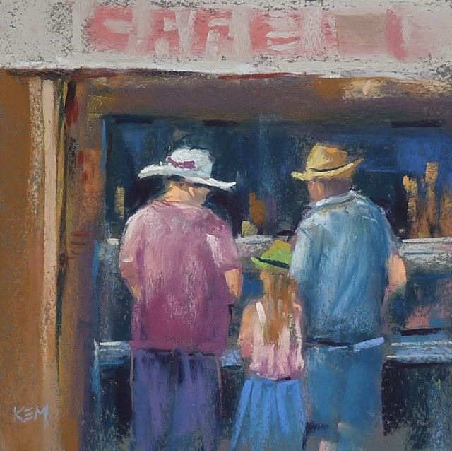 """""""New Video Release: Painting People with Pastel!"""" original fine art by Karen Margulis"""