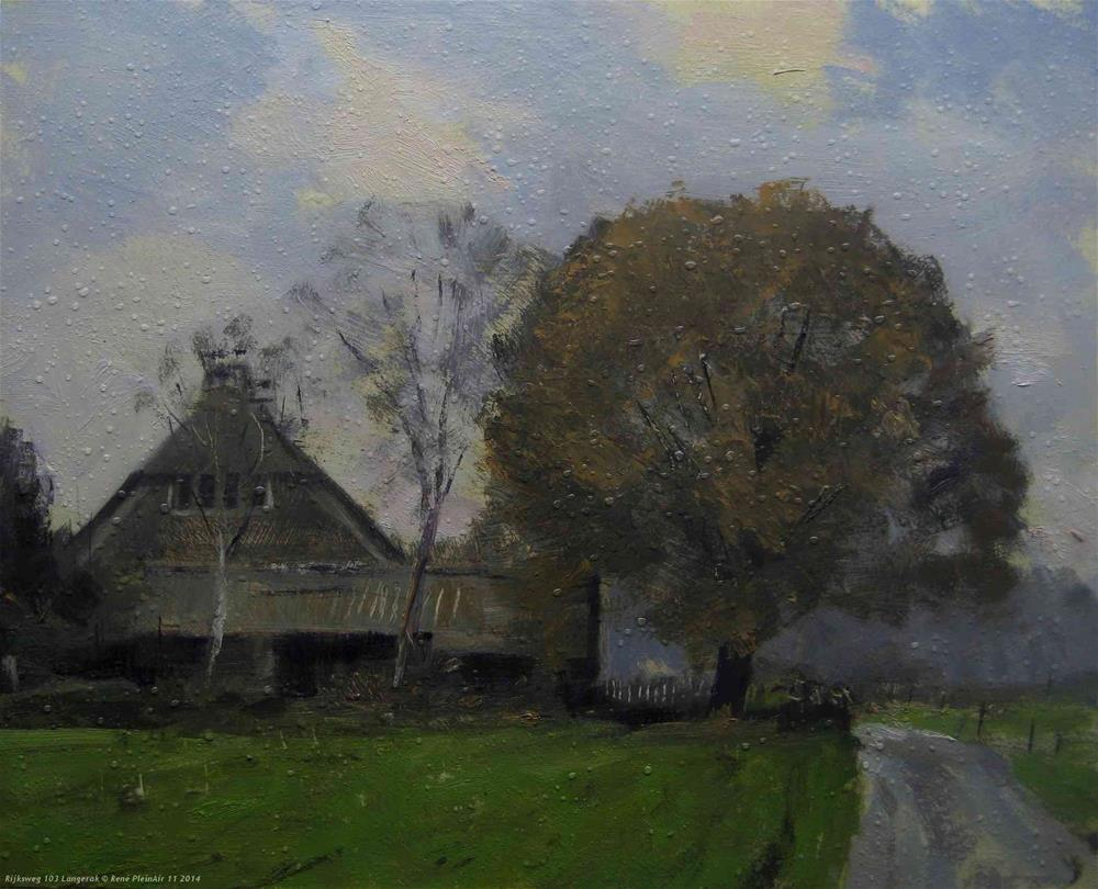 """Untitled"" original fine art by René PleinAir"