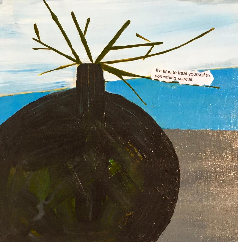 """Fortune 2"" original fine art by Janet Bludau"