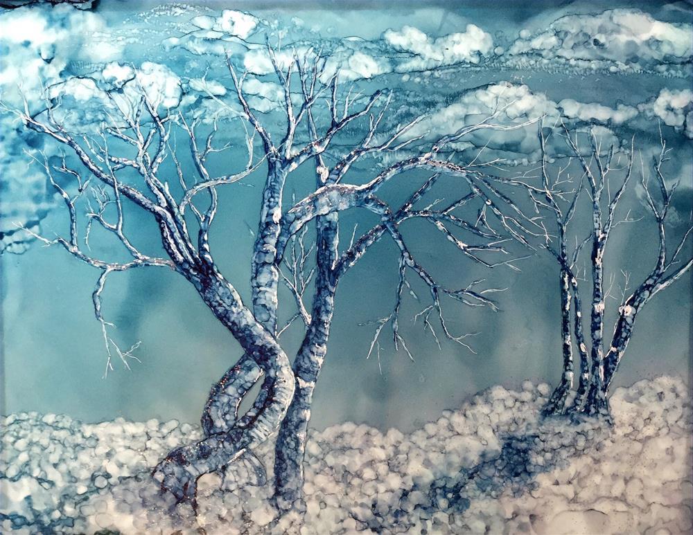 """A Thankgiving Snow"" original fine art by Korinne Carpino"