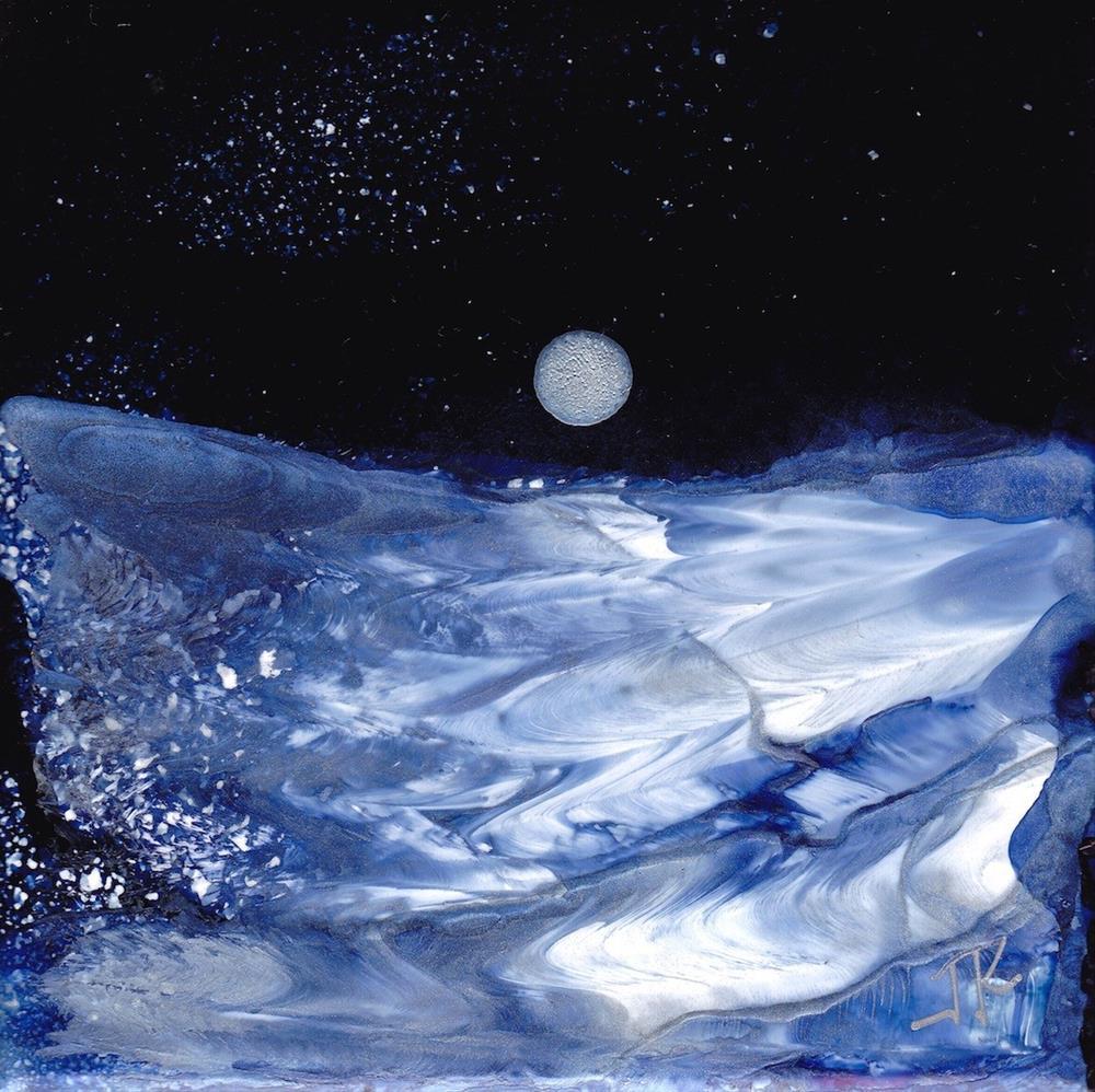 """Dreamscape No. 485"" original fine art by June Rollins"