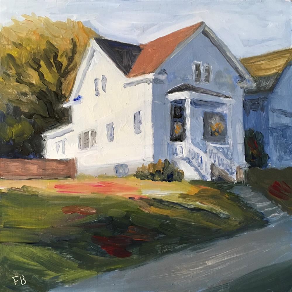 """138 Wauwatosa Farm House"" original fine art by Fred Bell"